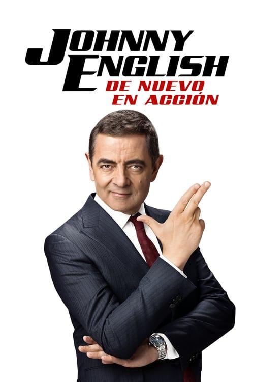 Johnny English: De nuevo en acción poster