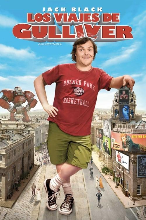 Póster película Los viajes de Gulliver
