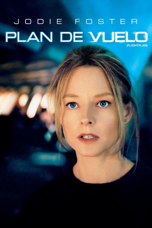 Póster película Plan de vuelo: desaparecida