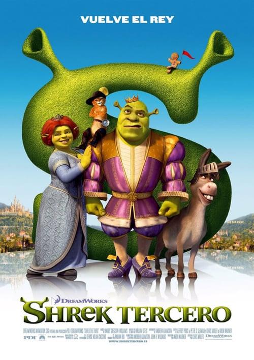 Shrek Tercero poster