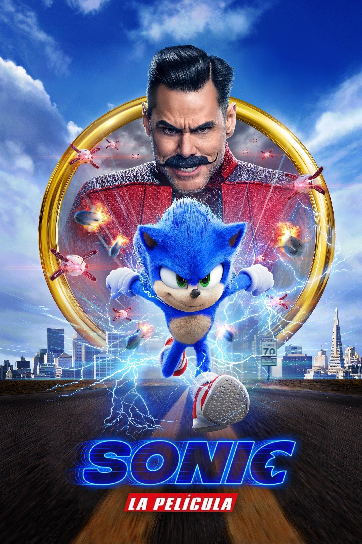 Sonic: La película poster