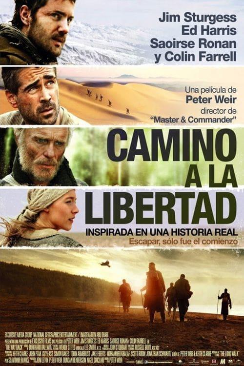Camino a la libertad poster