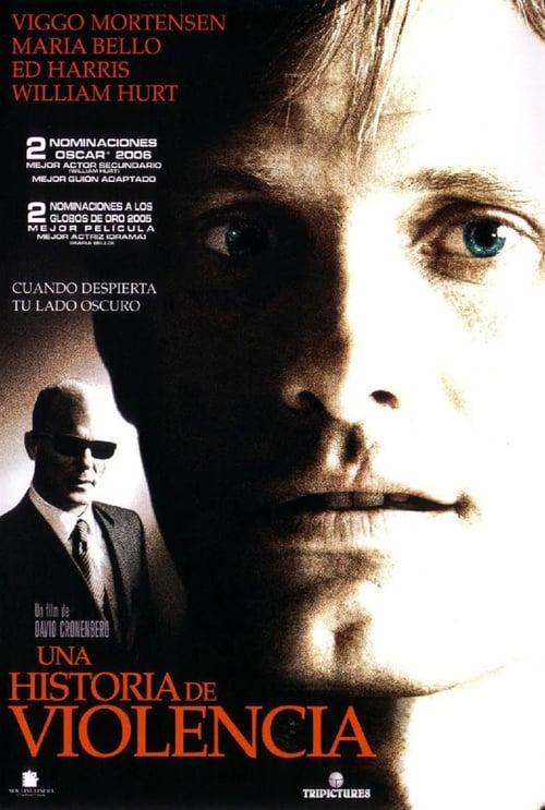 Póster película Una historia de violencia