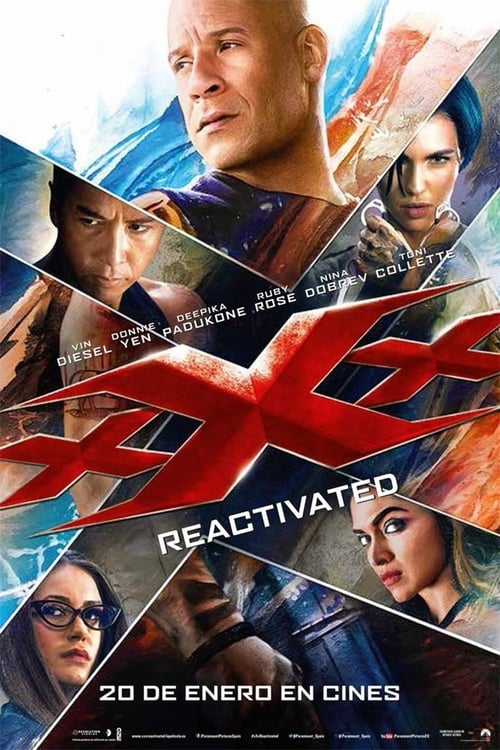 Póster película xXx: Reactivated