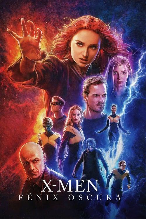 X-Men: Fénix oscura poster