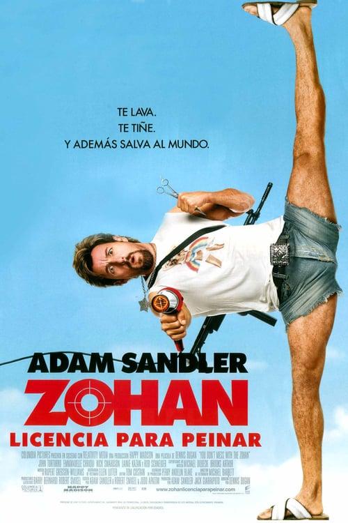 Zohan: Licencia para peinar poster