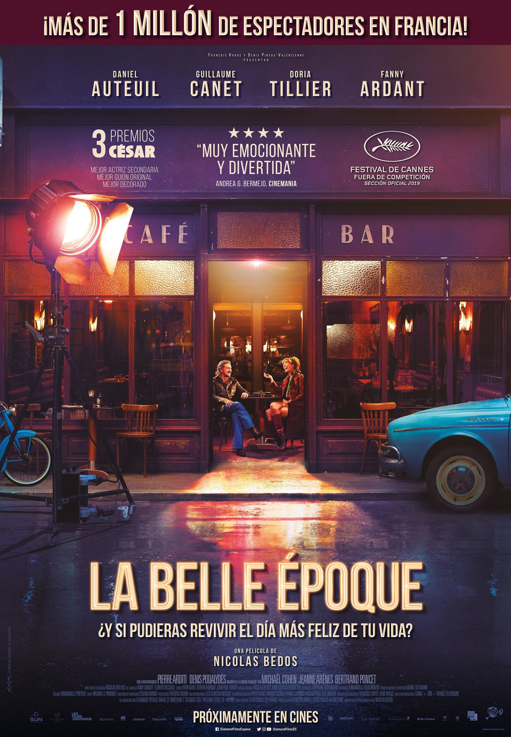 La Belle Époque poster