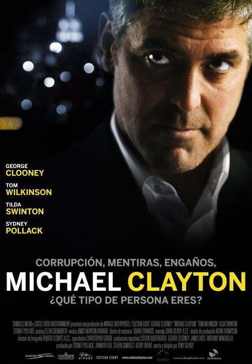 Póster película Michael Clayton