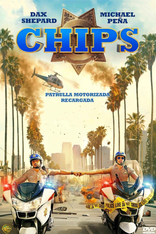Póster película CHiPs, loca patrulla motorizada