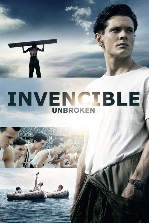 Póster película Invencible (Unbroken)