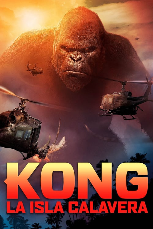 Póster película Kong: La isla calavera