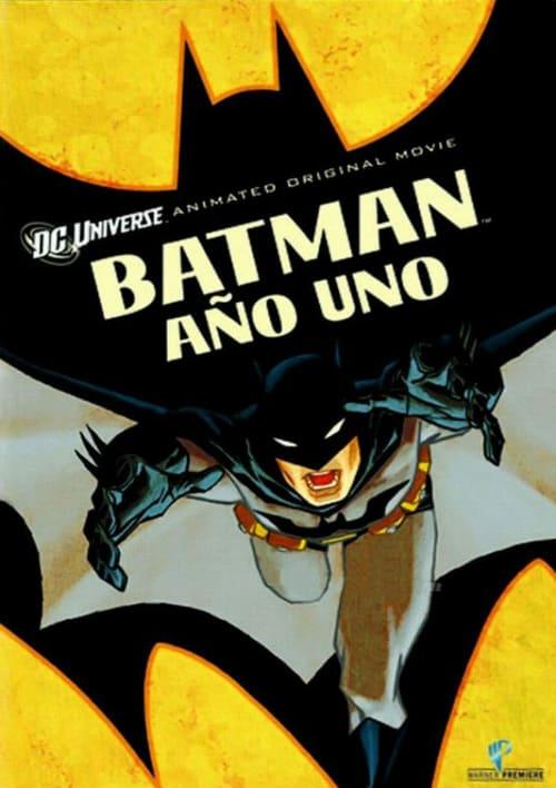 Póster película Batman: Año Uno