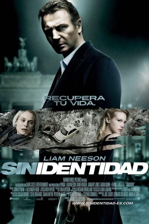 Póster película Sin identidad
