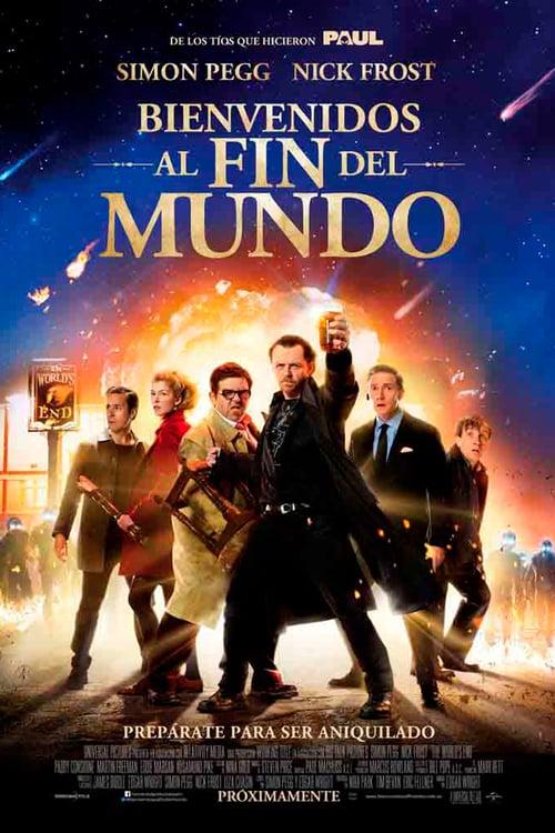 Póster película Bienvenidos al fin del mundo