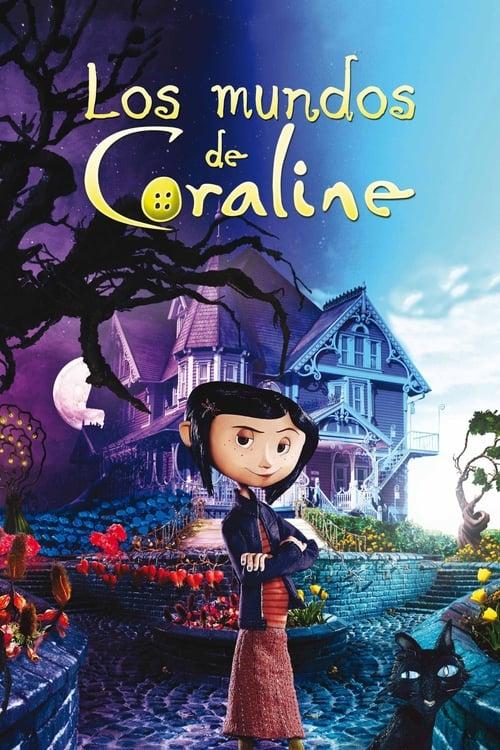 Póster película Los mundos de Coraline