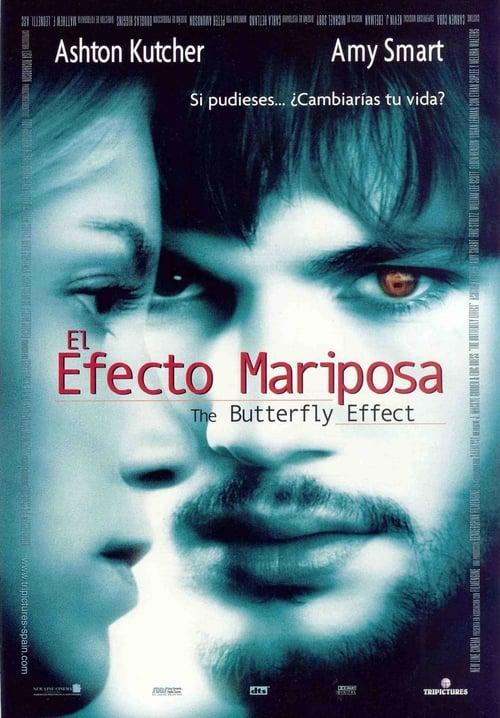 Póster película El efecto mariposa