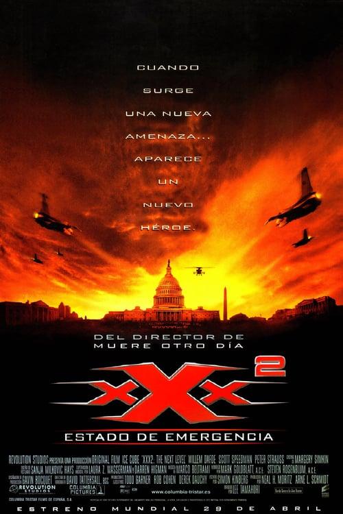 Póster película xXx2: Estado de emergencia