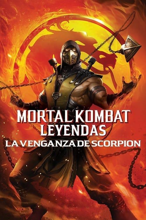 Póster película Mortal Kombat Legends: La venganza de Scorpion