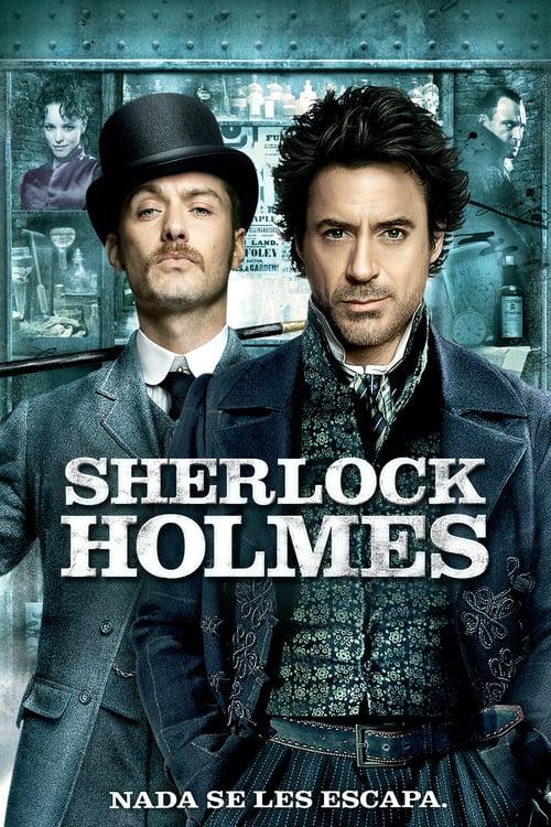 Póster película Sherlock Holmes