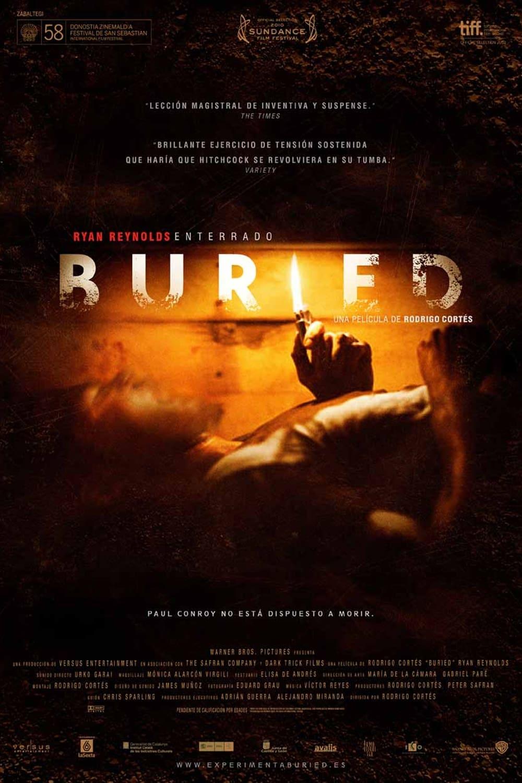 Buried (Enterrado) poster