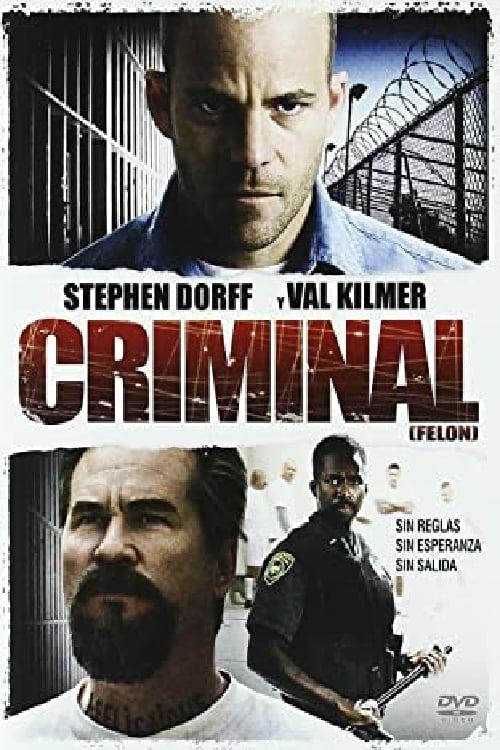 Póster película Criminal