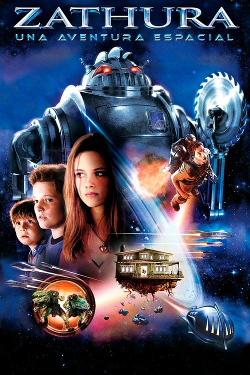Póster película Zathura: Una aventura espacial