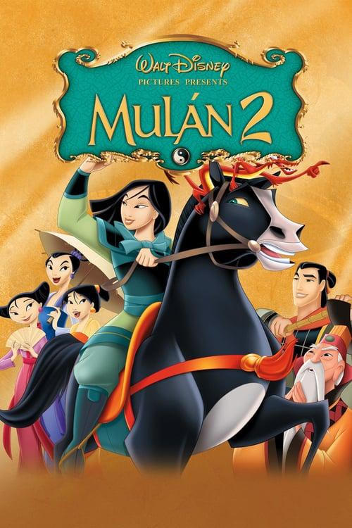 Póster película Mulán 2