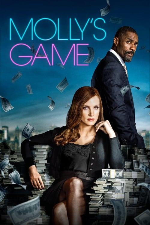 Póster película Molly's Game