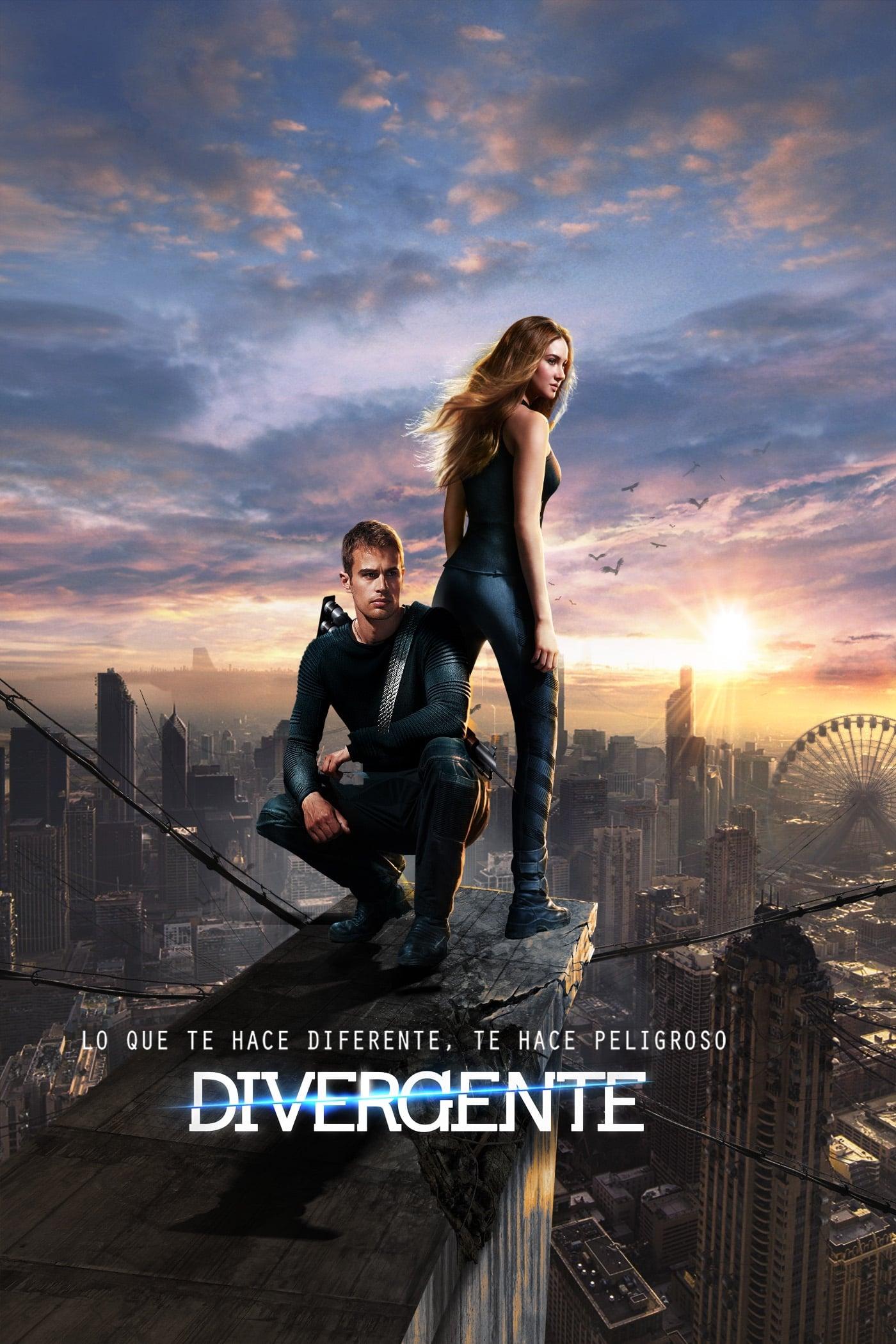 Póster película Divergente