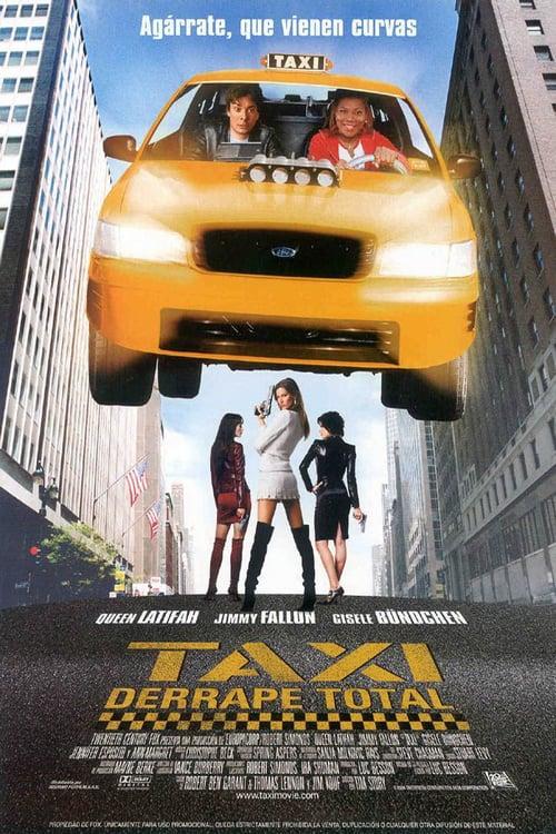 Taxi: Derrape total poster