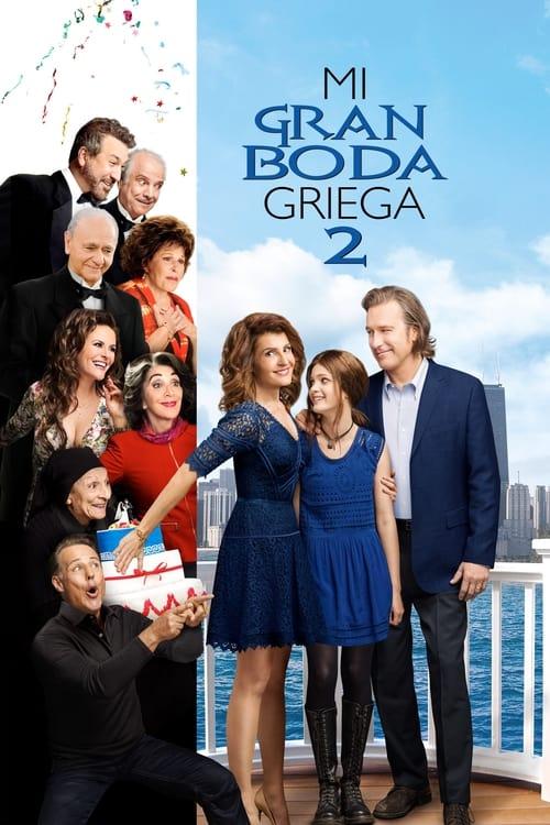Mi gran boda griega 2 poster
