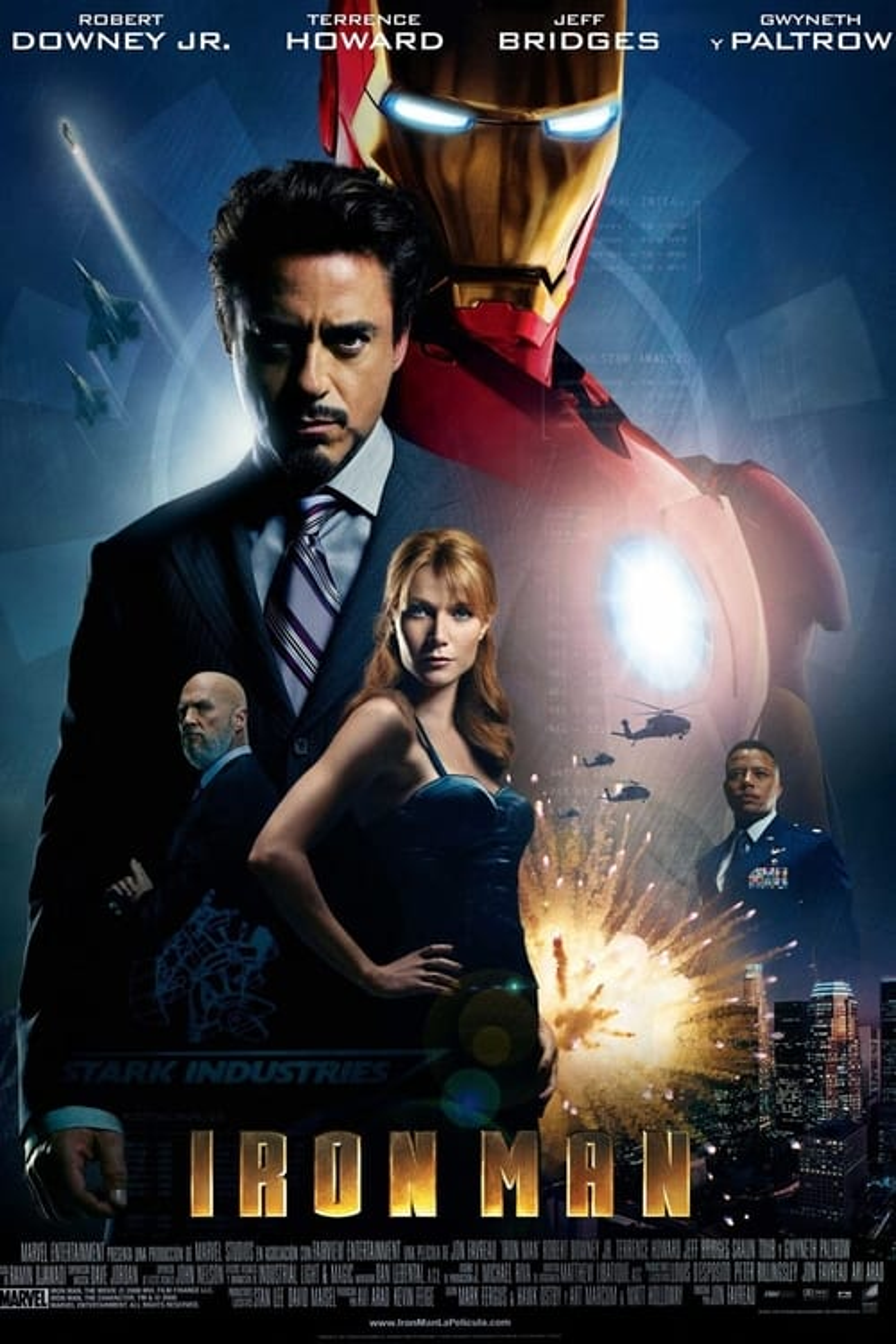 Póster película Iron Man