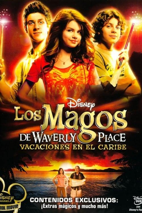 Los magos de Waverly Place: Vacaciones en el Caribe poster