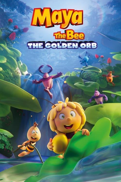 La abeja Maya y el huevo dorado poster