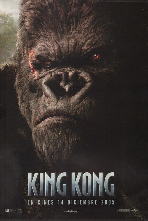 Póster película King Kong