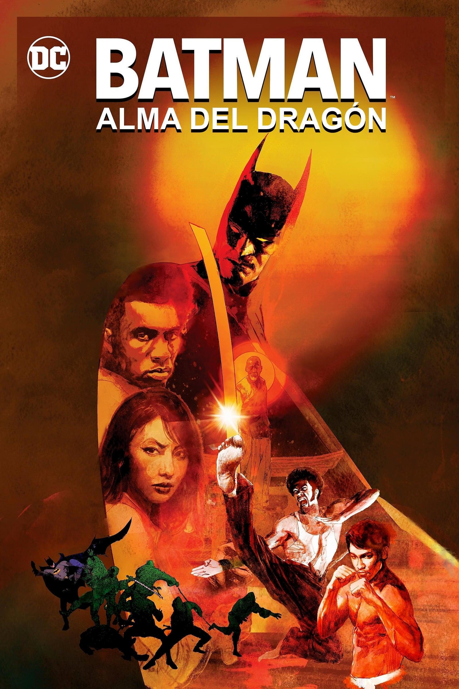 Batman: Alma de Dragón poster