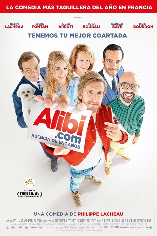 Alibi.com, agencia de engaños poster