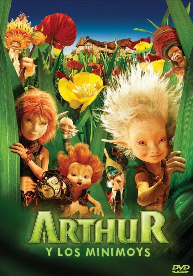 Póster película Arthur y los Minimoys