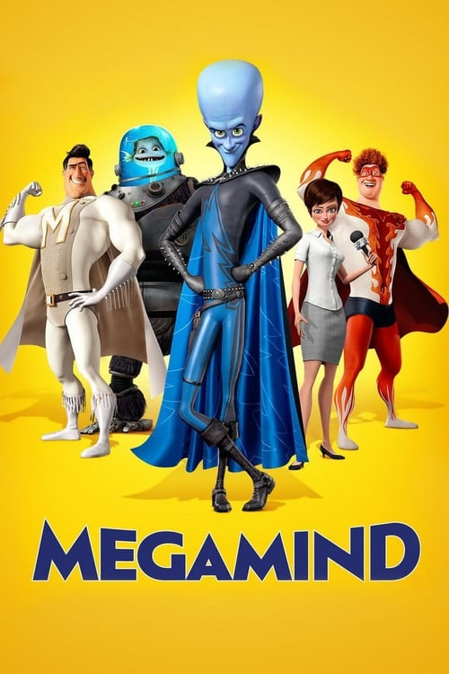 Póster película Megamind