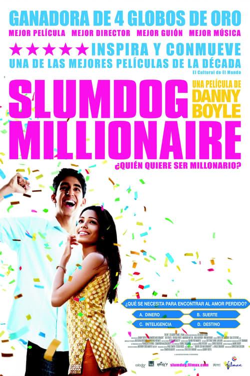 Póster película Slumdog Millionaire