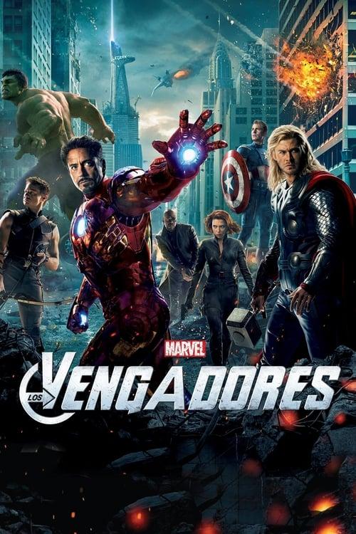 Póster película Los Vengadores