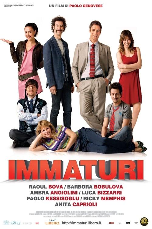 Inmaduros poster