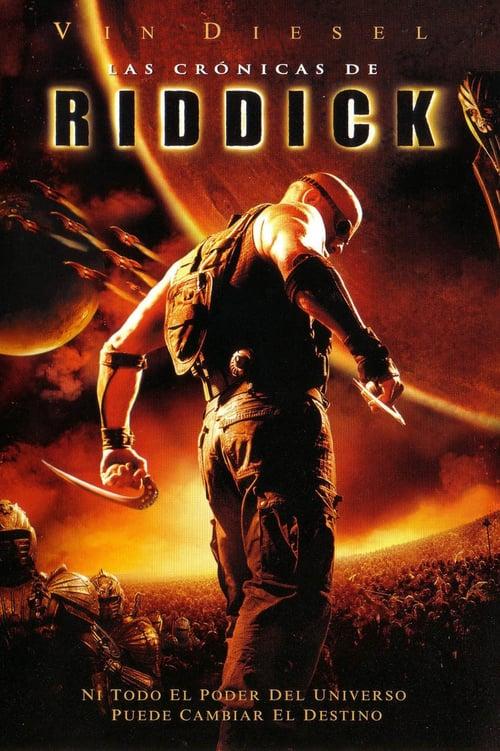 Póster película Las crónicas de Riddick