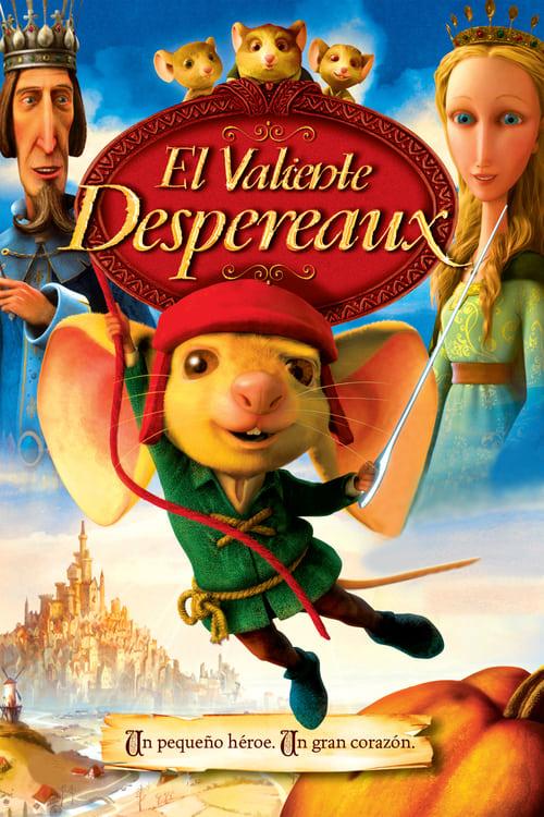 Póster película El valiente Desperaux