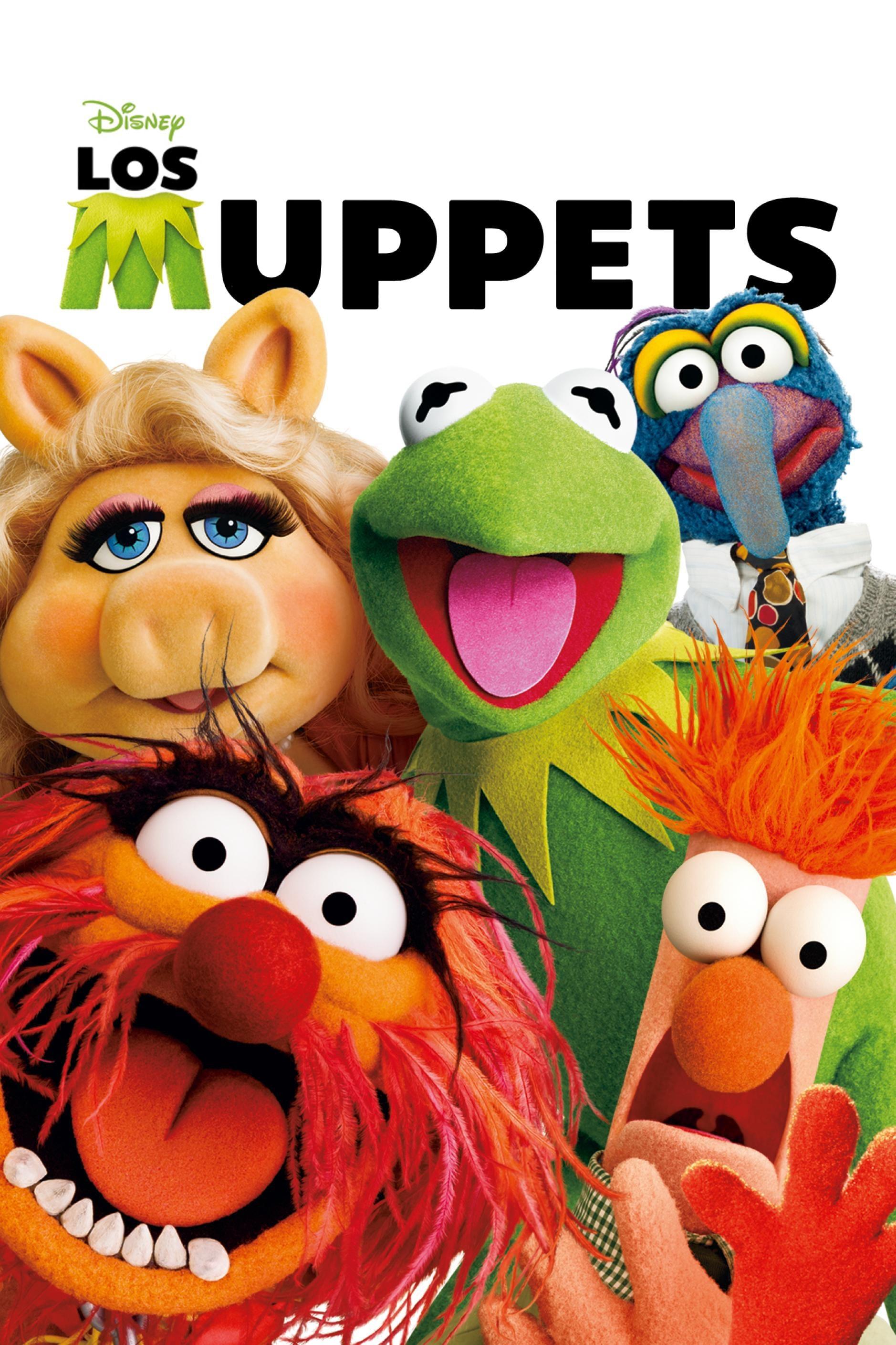 Póster película Los Muppets