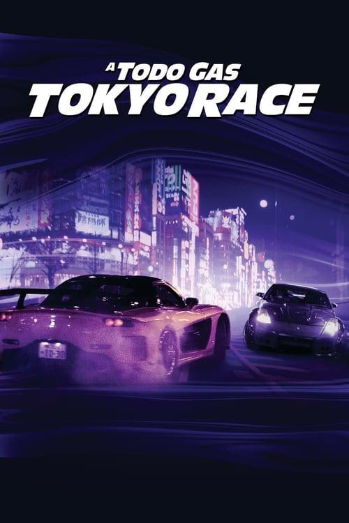 Póster película A todo gas: Tokyo Race