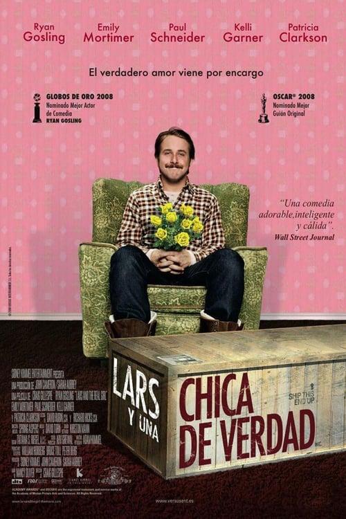 Lars y una chica de verdad poster