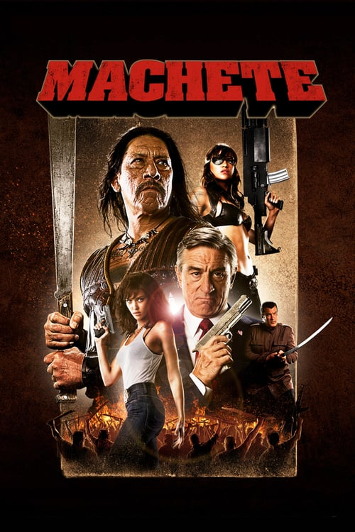 Póster película Machete
