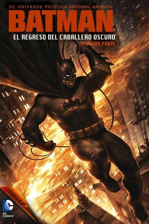 Póster película Batman: El regreso del Caballero Oscuro, Parte 2