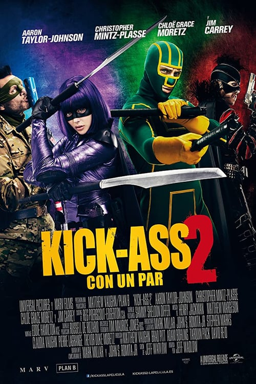 Kick-Ass 2: Con un par poster